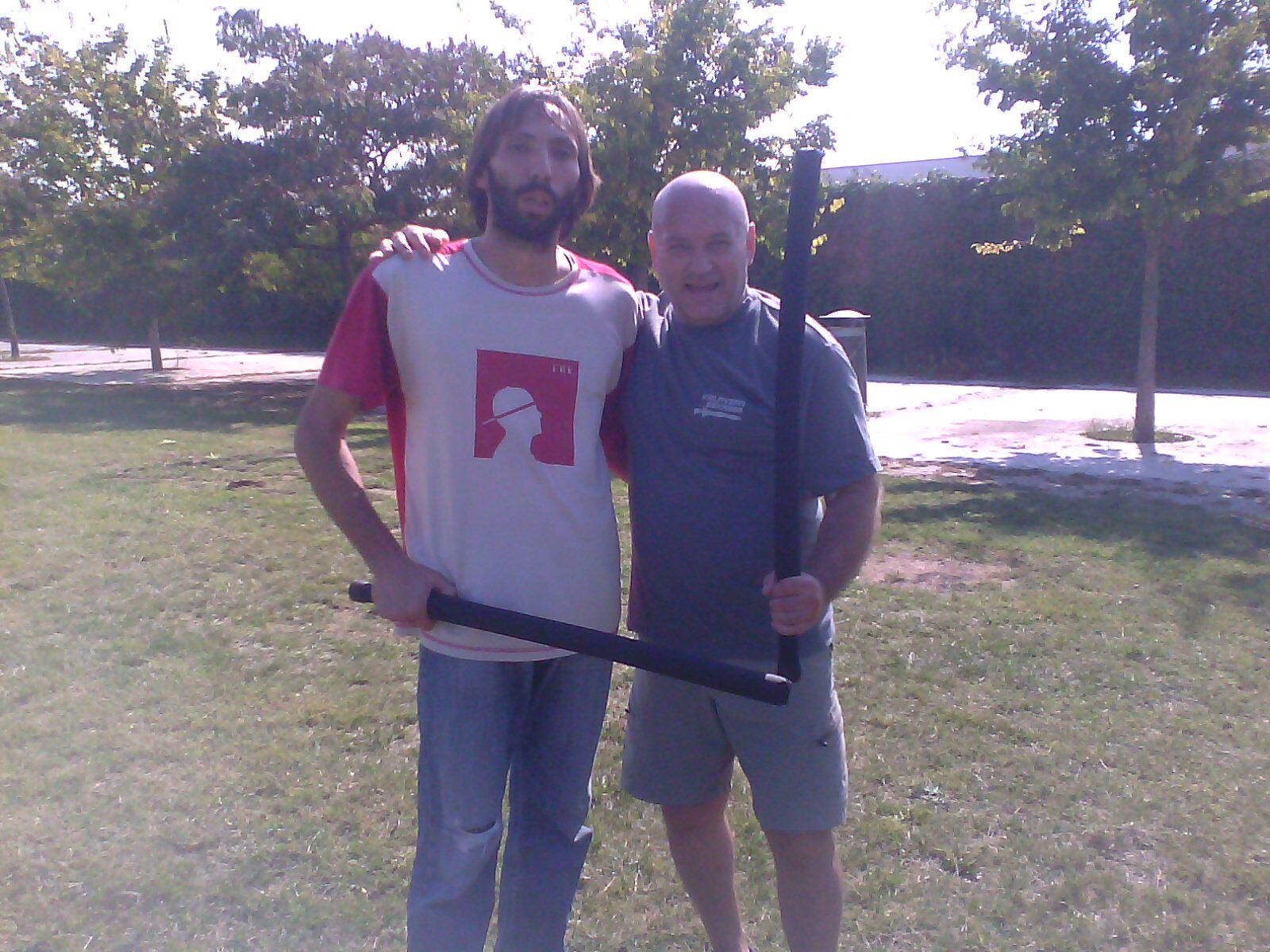 entrenamiento con Rodolfo Dog Brothers