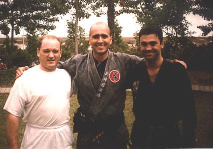 con Pedro Fleitas y Santi