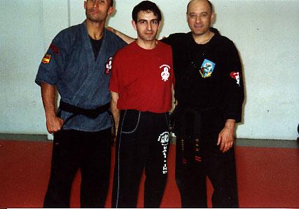 con Jesús Juni y J. Millan