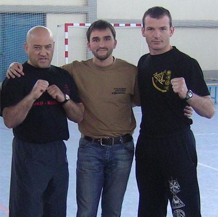 con Bruno y Paulino
