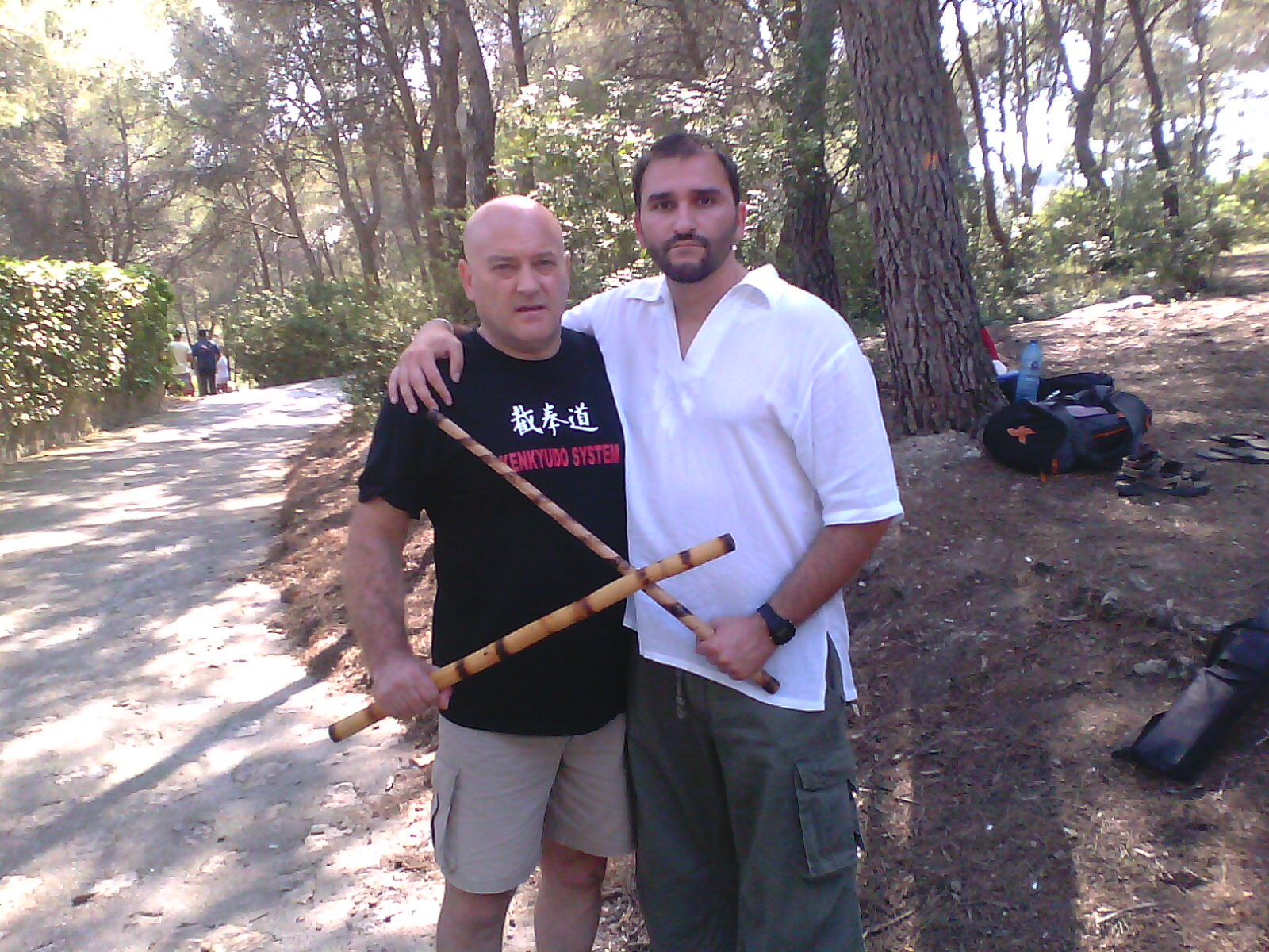con Bruno en Koredas Camp 2012