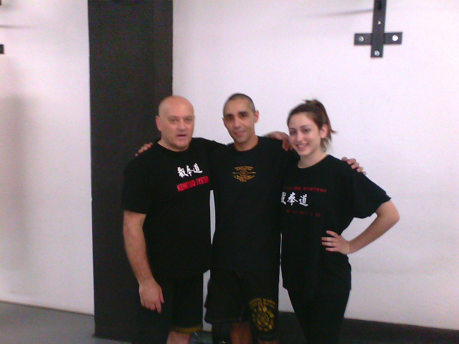 con David Pardo y Paula
